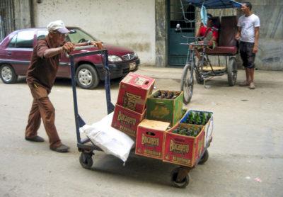 backpacking på Cuba