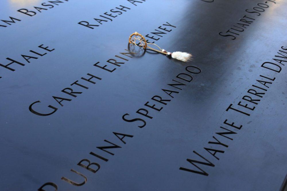 9/11 memorial i New York City, USA