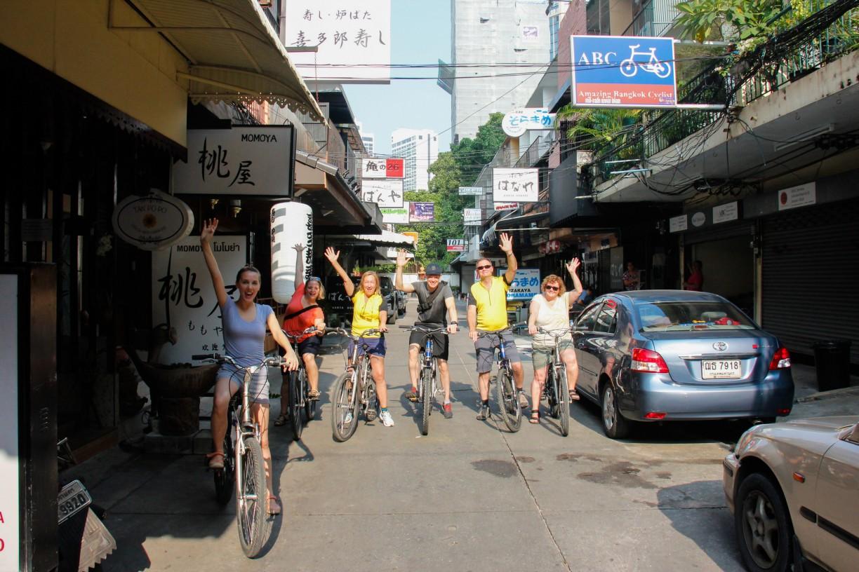 En anderledes oplevelse på cyketur i Bangkok