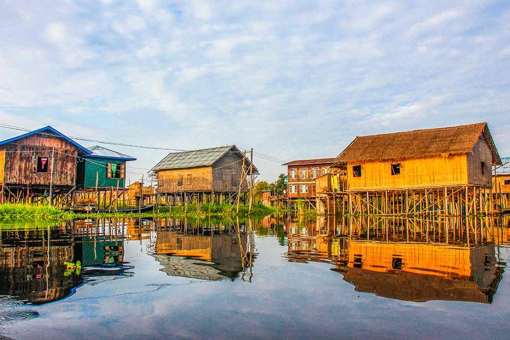huse på inlesøen