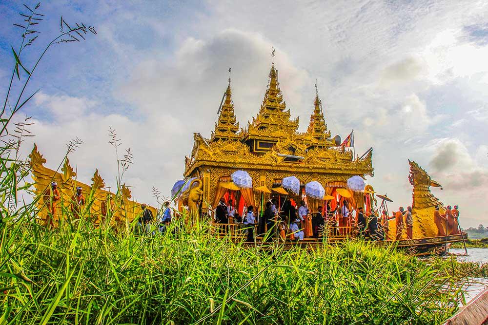 flydende pagode, Myanmar