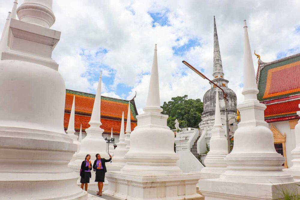 Phra Mahathat Woramahawihan - Sydthailands vigtigste tempel