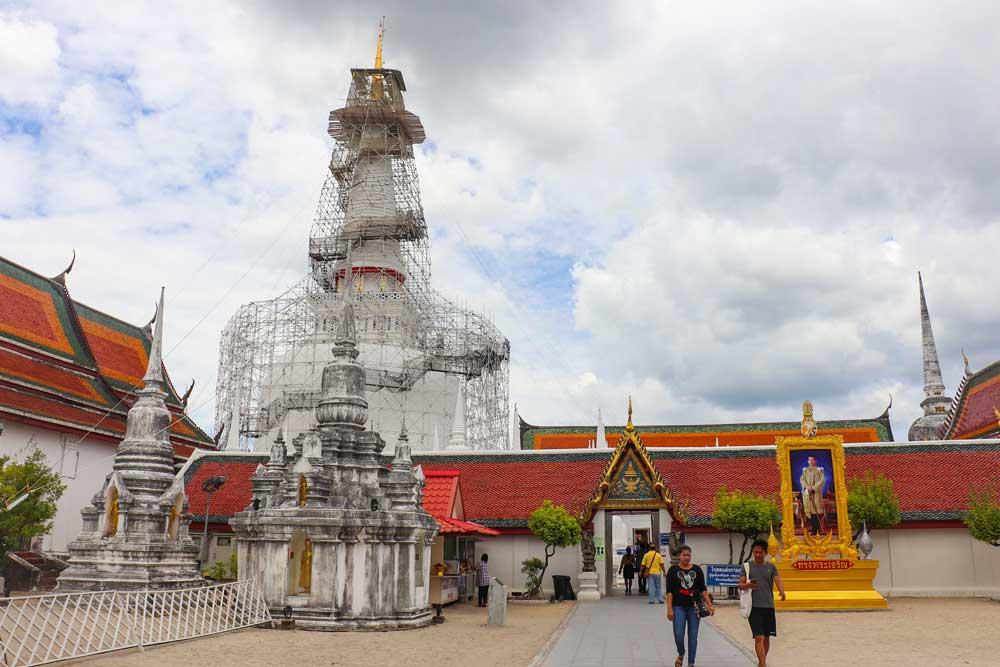 tempel i sythailand