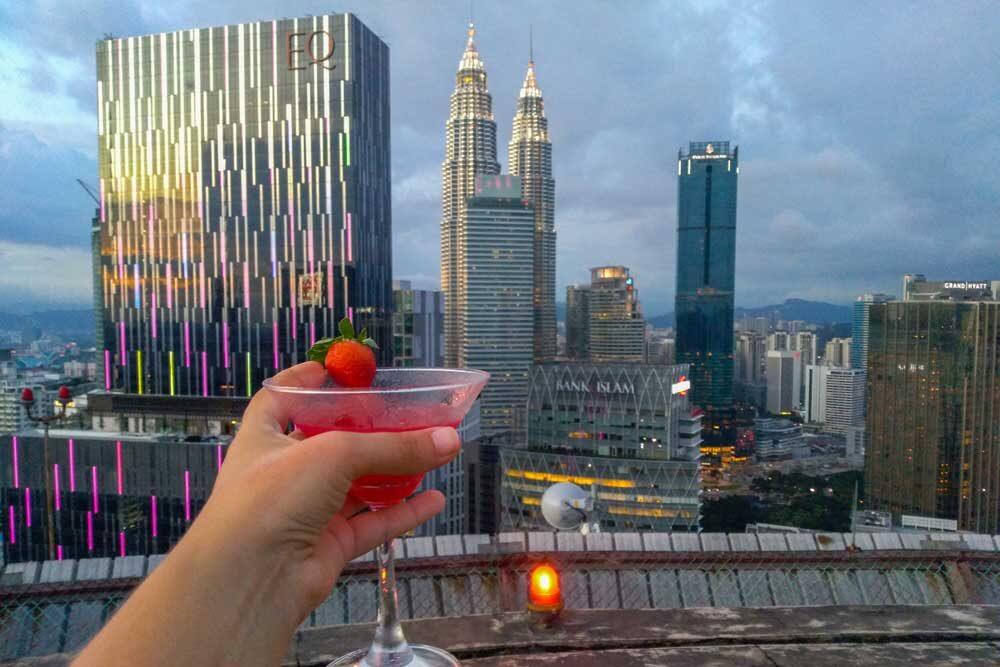heli lounge bar, Kuala Lumpur