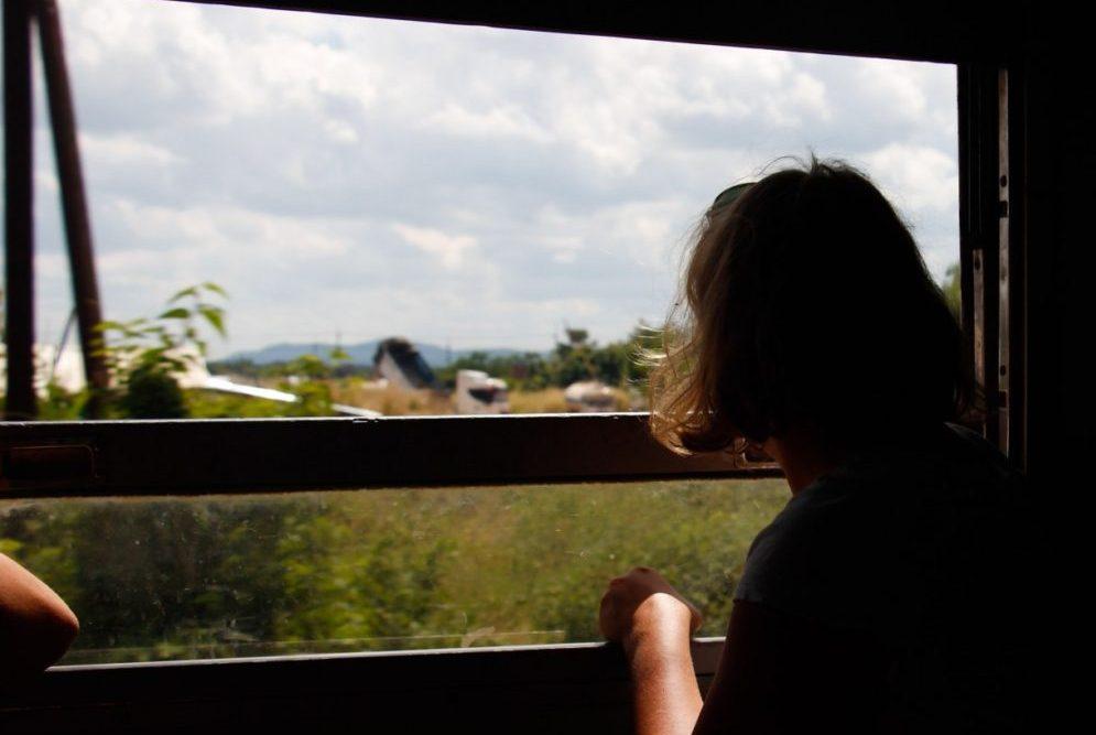 Med lokalt tog fra Bangkok til Cambodia, den billigste vej til Siem Reap
