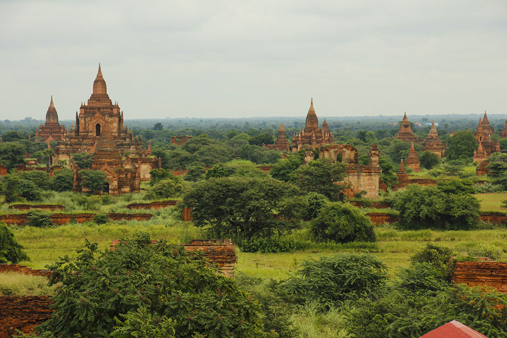 budget for at rejse i Bagan