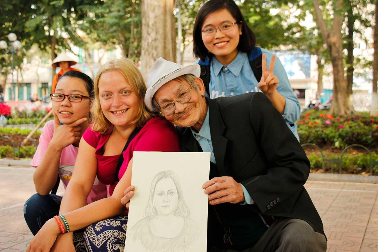 vietnamesisk tegner