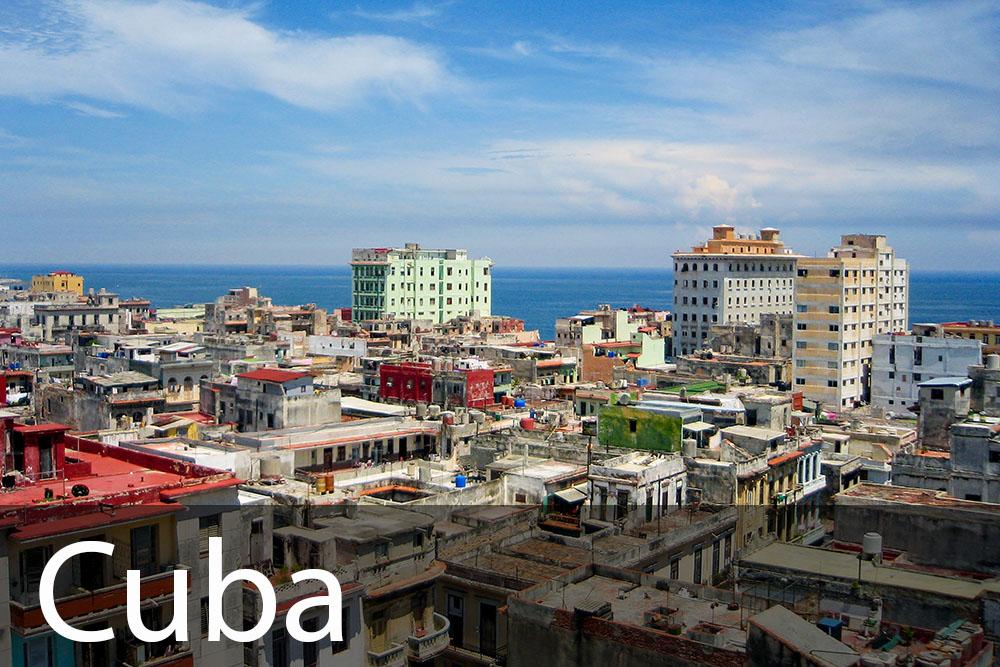 rejseinspiration til Cuba