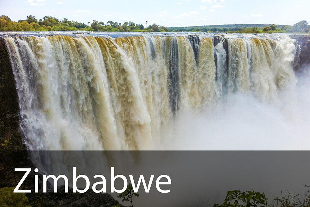 rejseinspiration til Zimbabwe