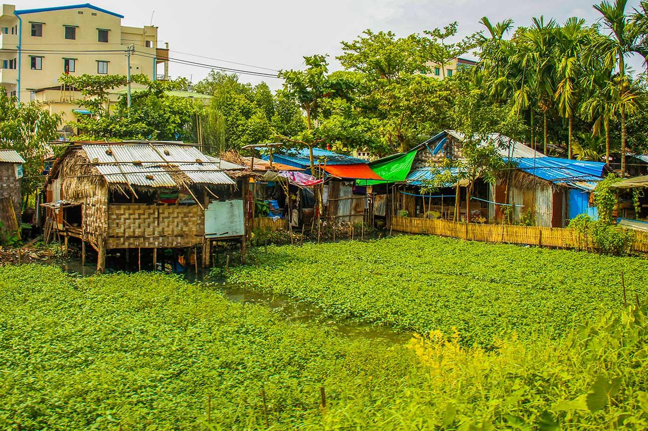 lokale hjem i yangon