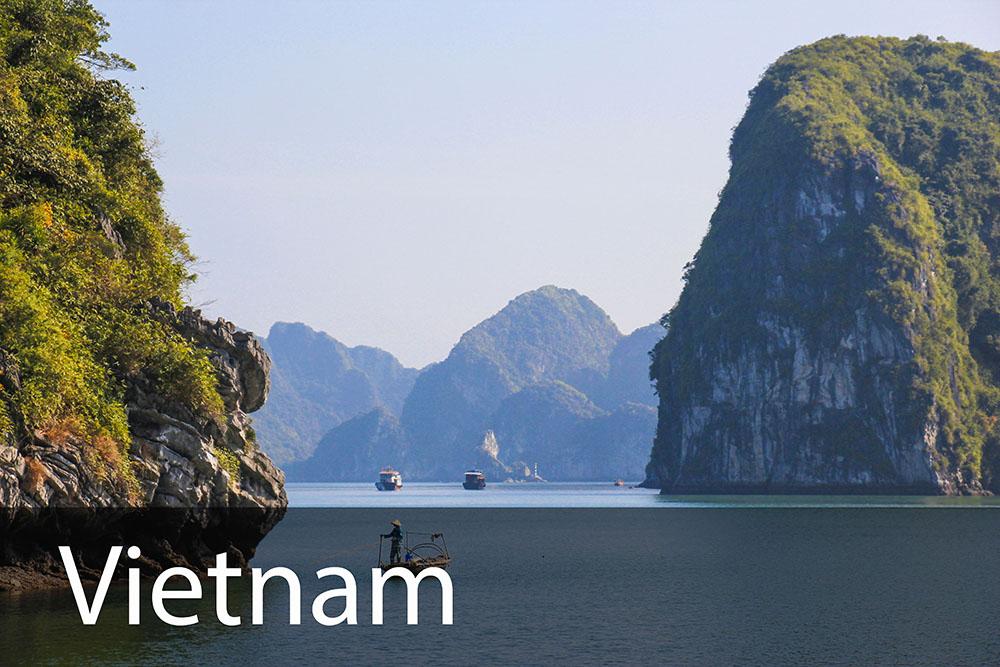 rejseinspiration til Vietnam
