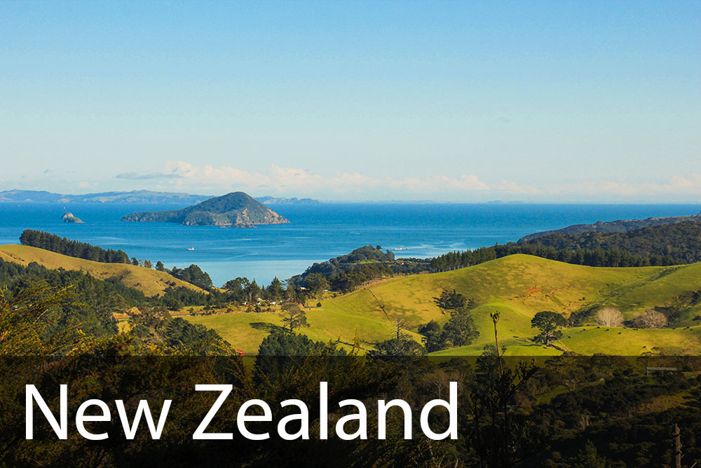 rejseinspiration til New Zealand