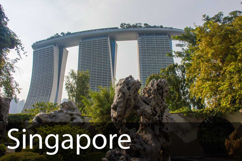 rejs til Singapore på egen hånd