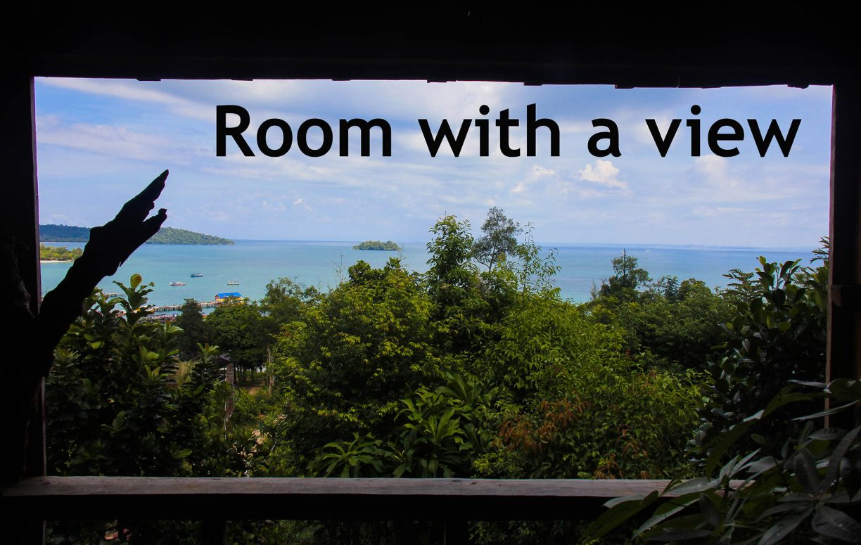 Room with a view – på et backpackerbudget