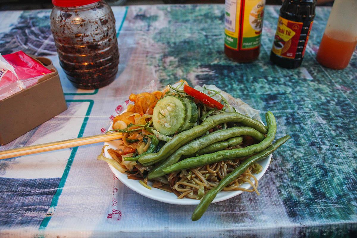 Street food, Luang Prabang