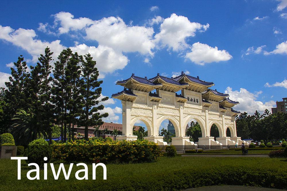 rejseinspiration til Taiwan