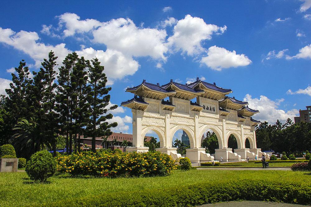 smuk arkitektur i Taipei