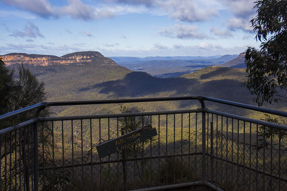 Allambie Lookout i Blue Mountains