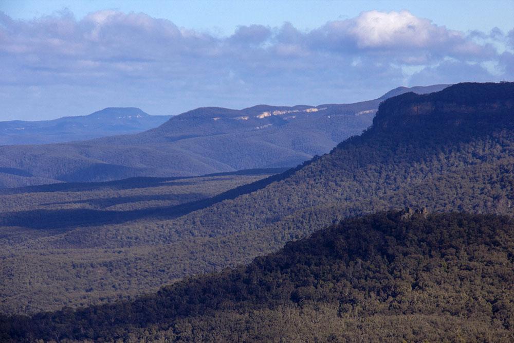 Blue Mountains i Sydney