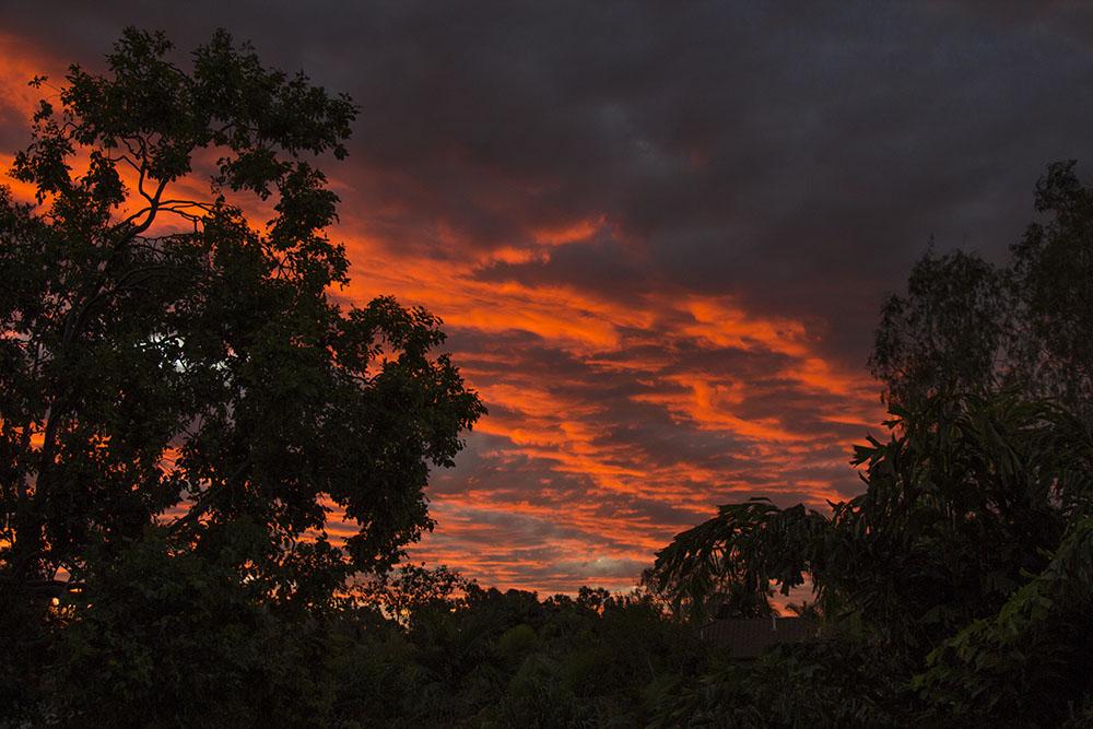 Solnedgangene i Townsville er smukke