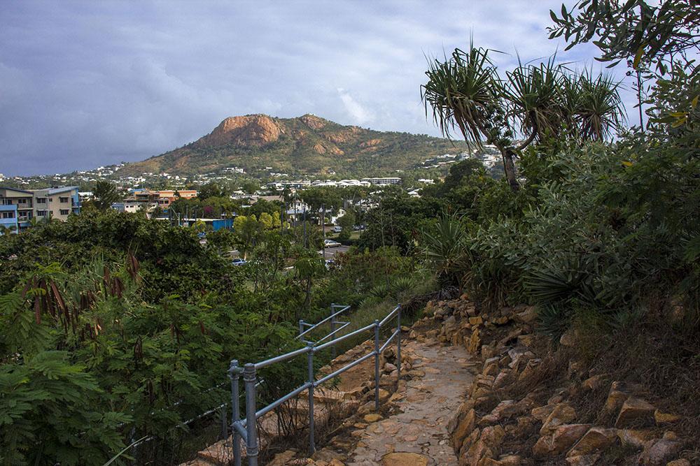 Townsville fra oven