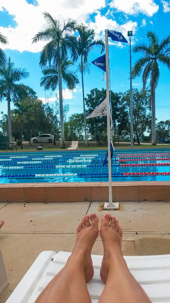 svømmingpool i Australien
