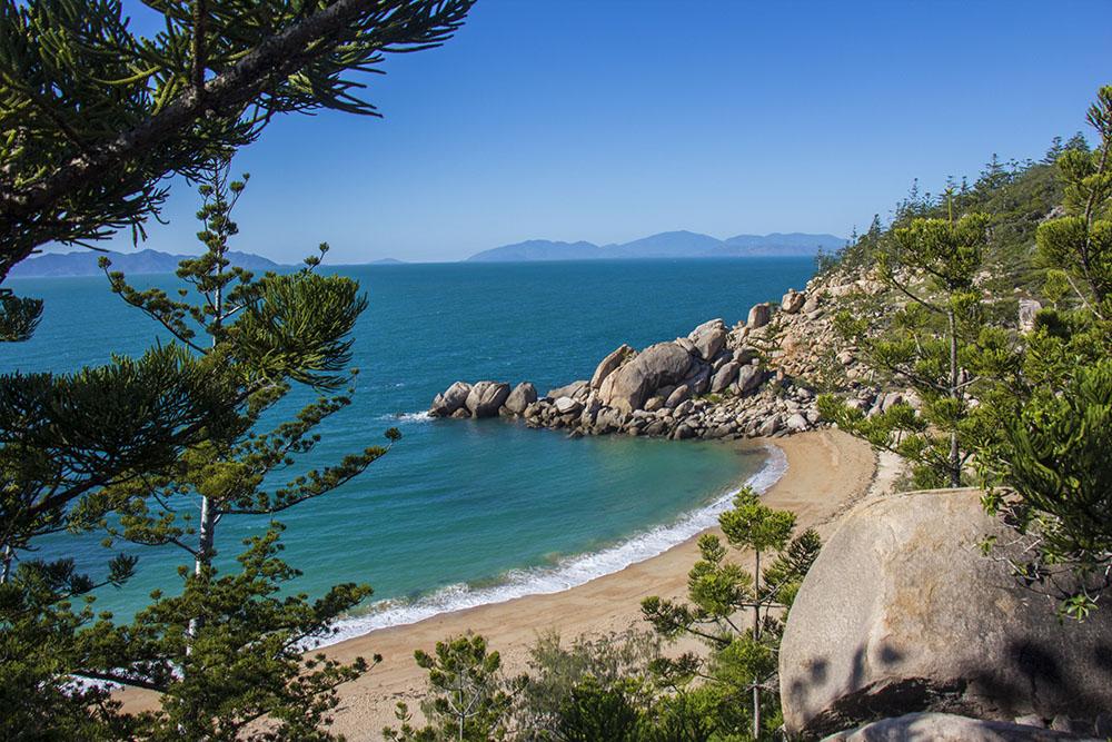 Eksotiske strande i Queensland