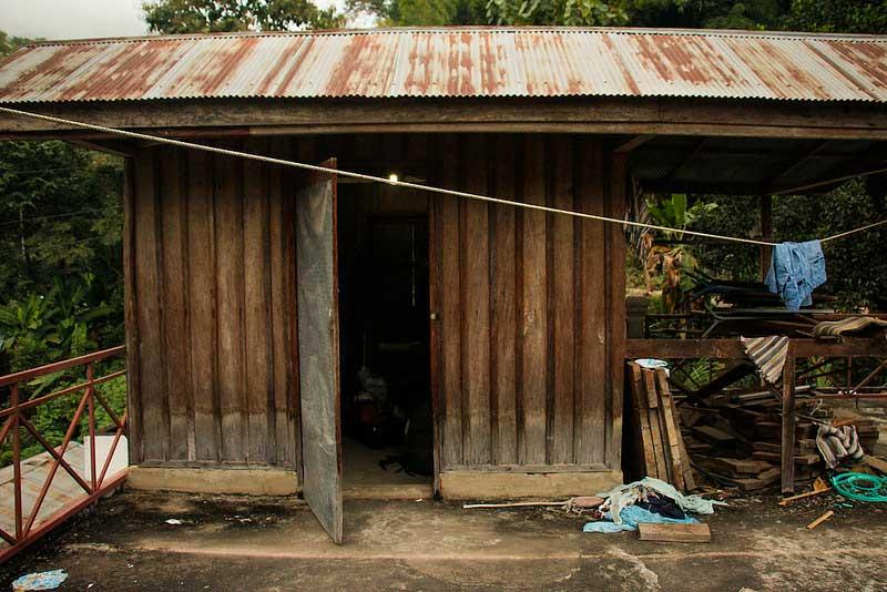 hytte i Pakbeng