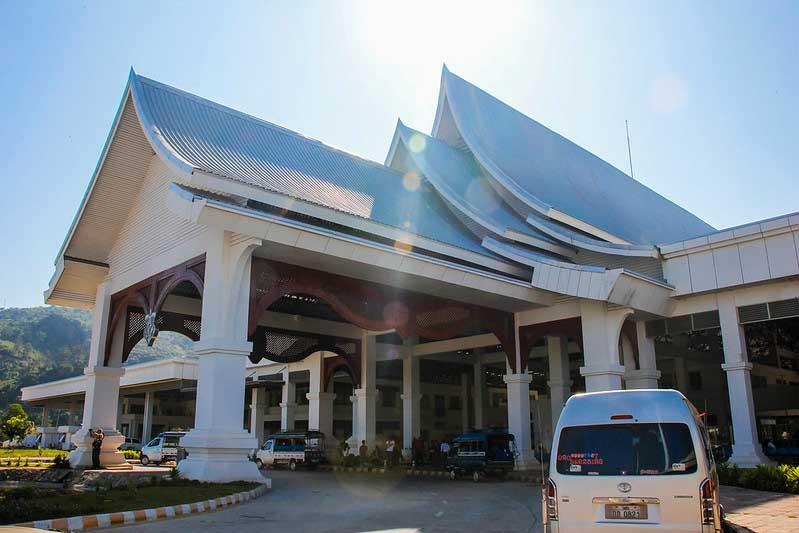 grænsen mellem Thailand og Laos