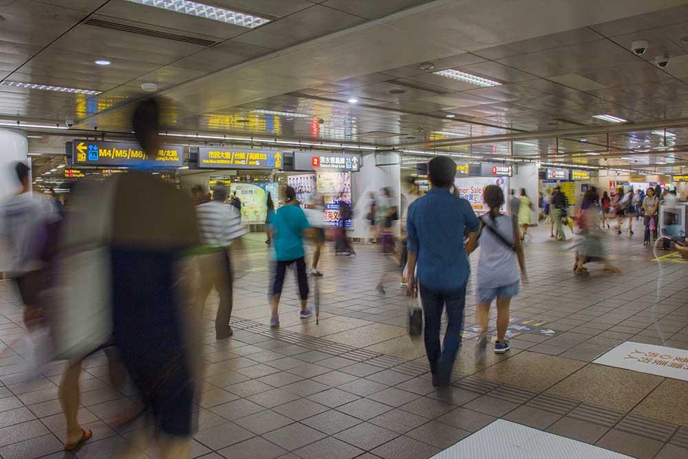 Metrostation i Taipei