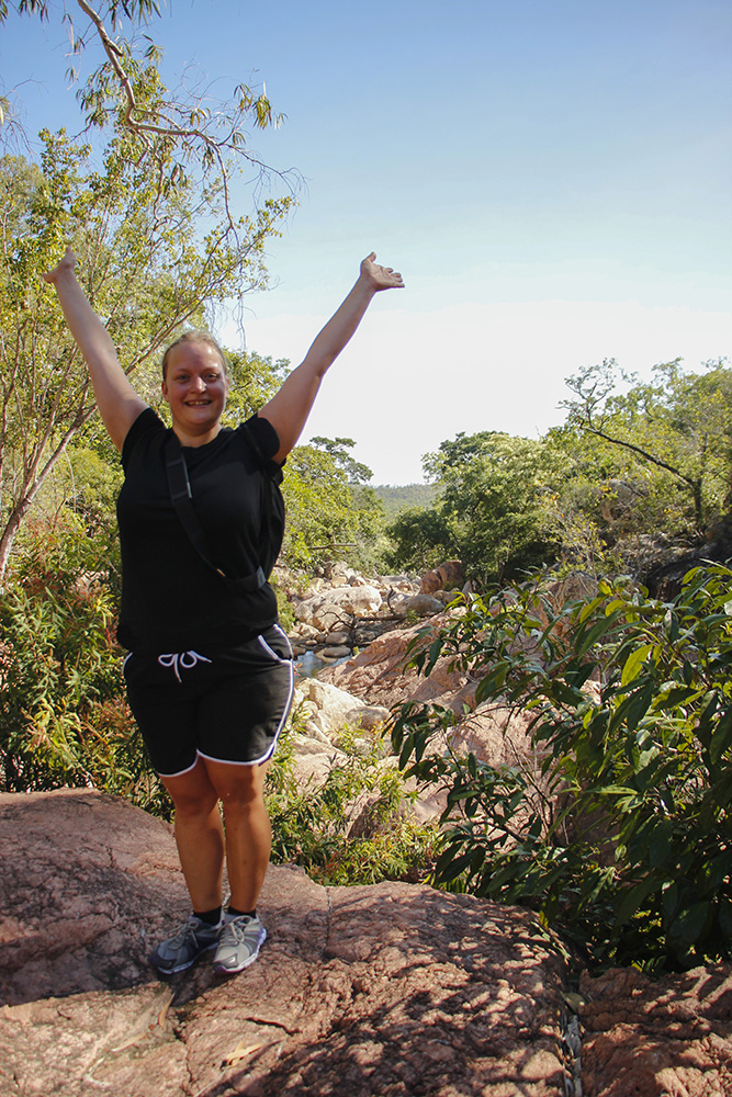 hiking i Townsville, Australien