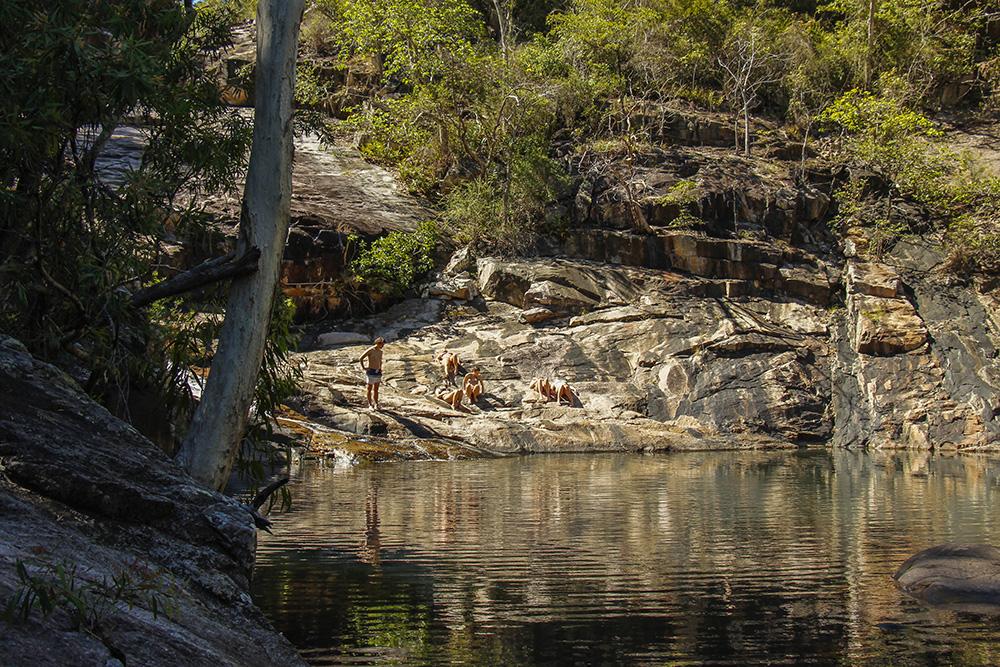 Vandhullet ved Killymoon Creek