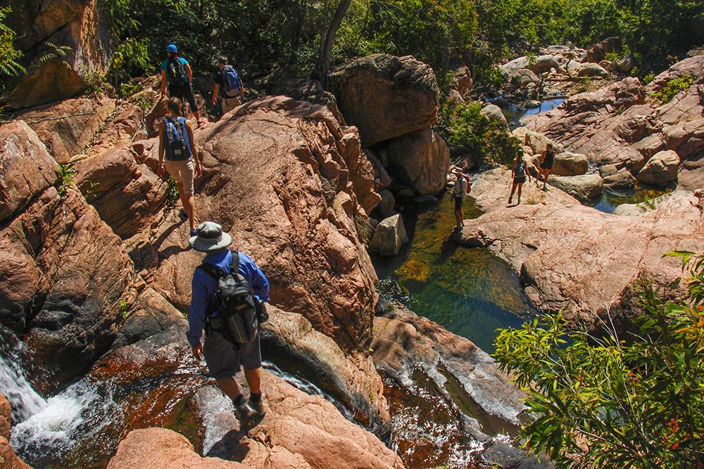 trekkingture i nærheden af Townsville Australien