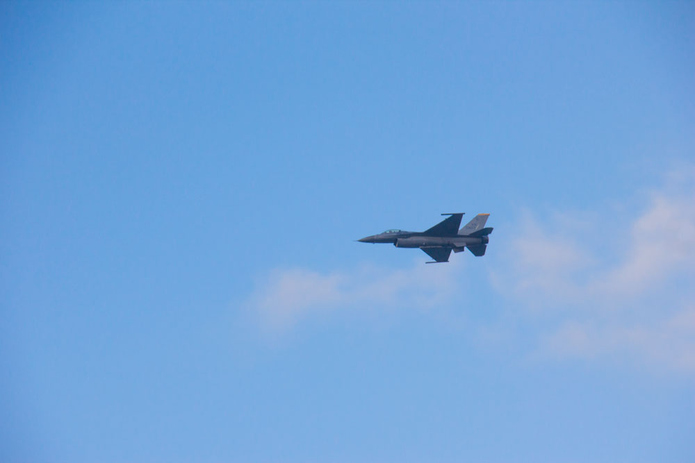 F16 fly Townsville