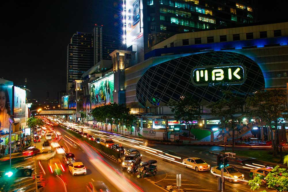 MBK i Bangkok, Thailand