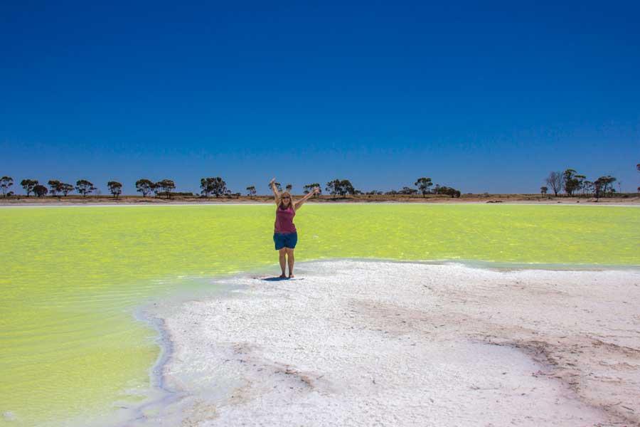 Grøn sø, Vestaustralien