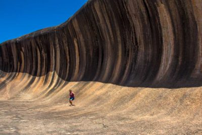 Wave Rock i Vestaustralien