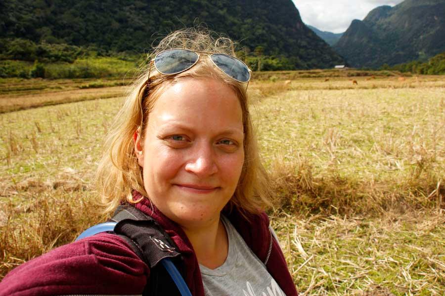 rejs alene i Laos