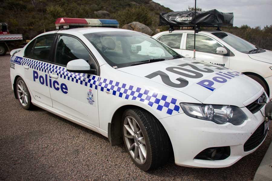 politi i Australien