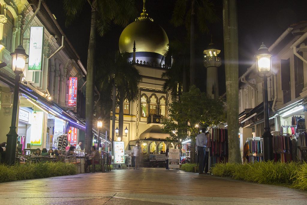 Masjid Sultan (Sultan moskeen)
