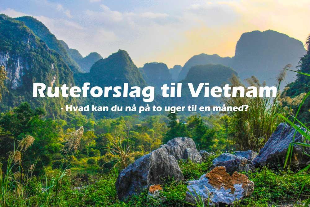 Ruteplan: Vietnam