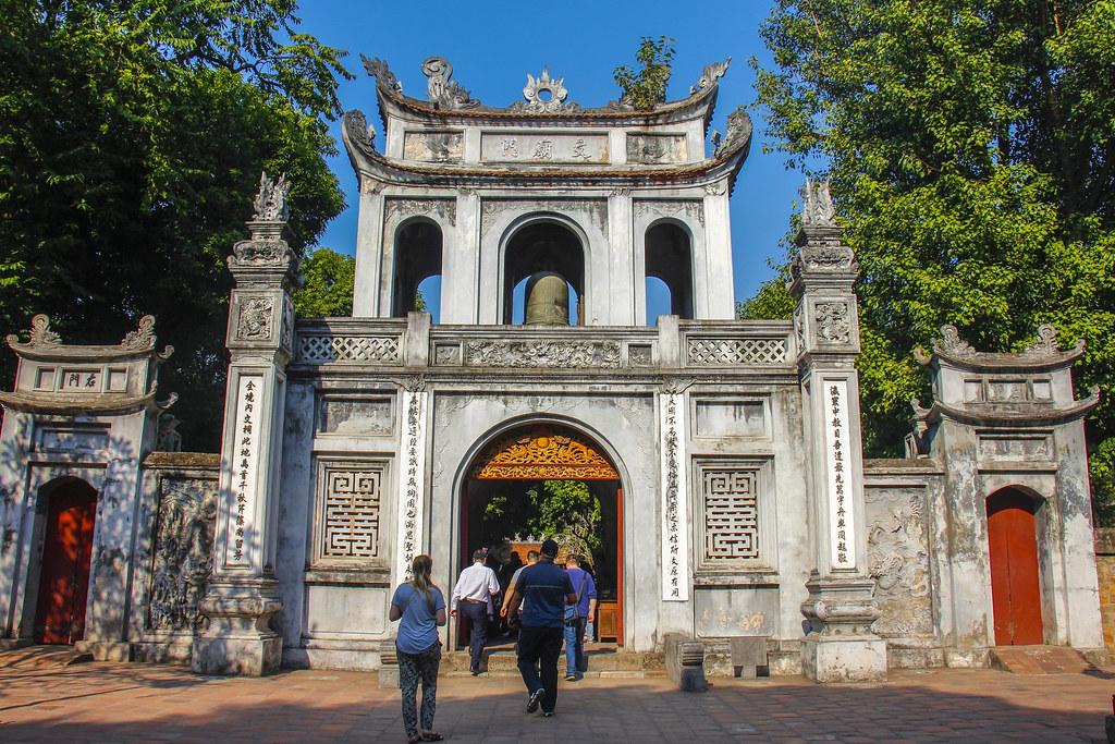 Temple of Literature(Văn Miêu)