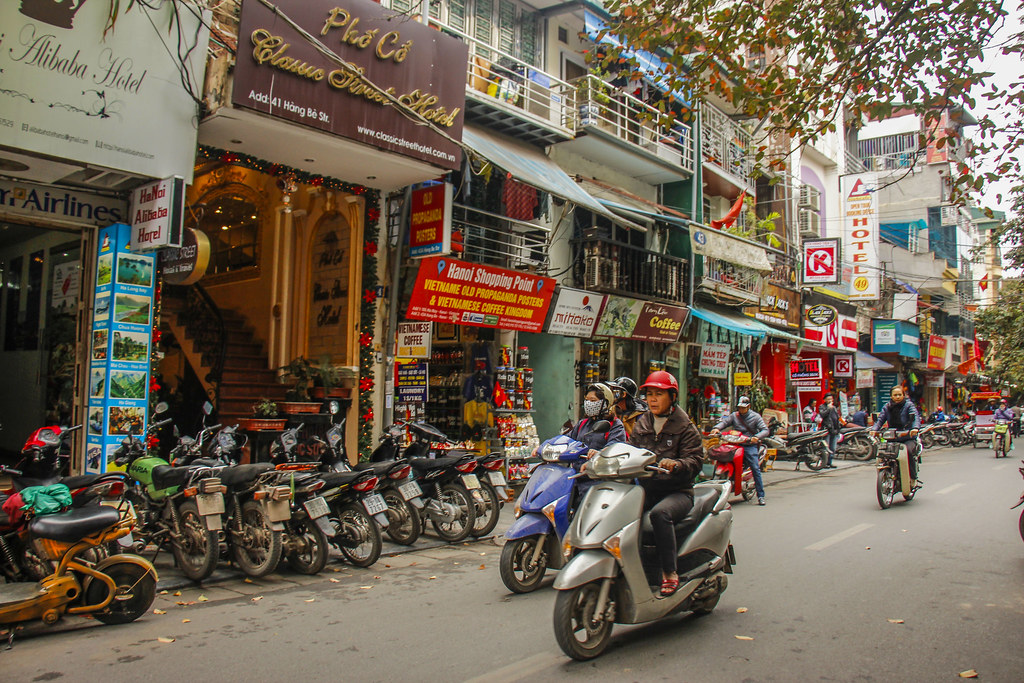 the old quarter, hanoi