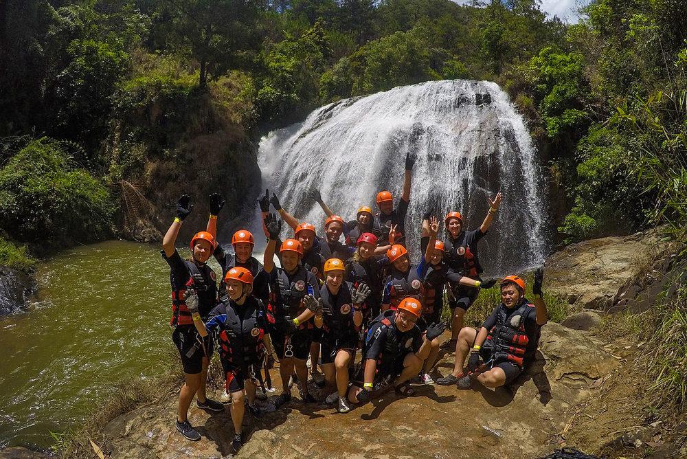 Canyoning i Dalat, Vietnam – den vildeste adventureoplevelse