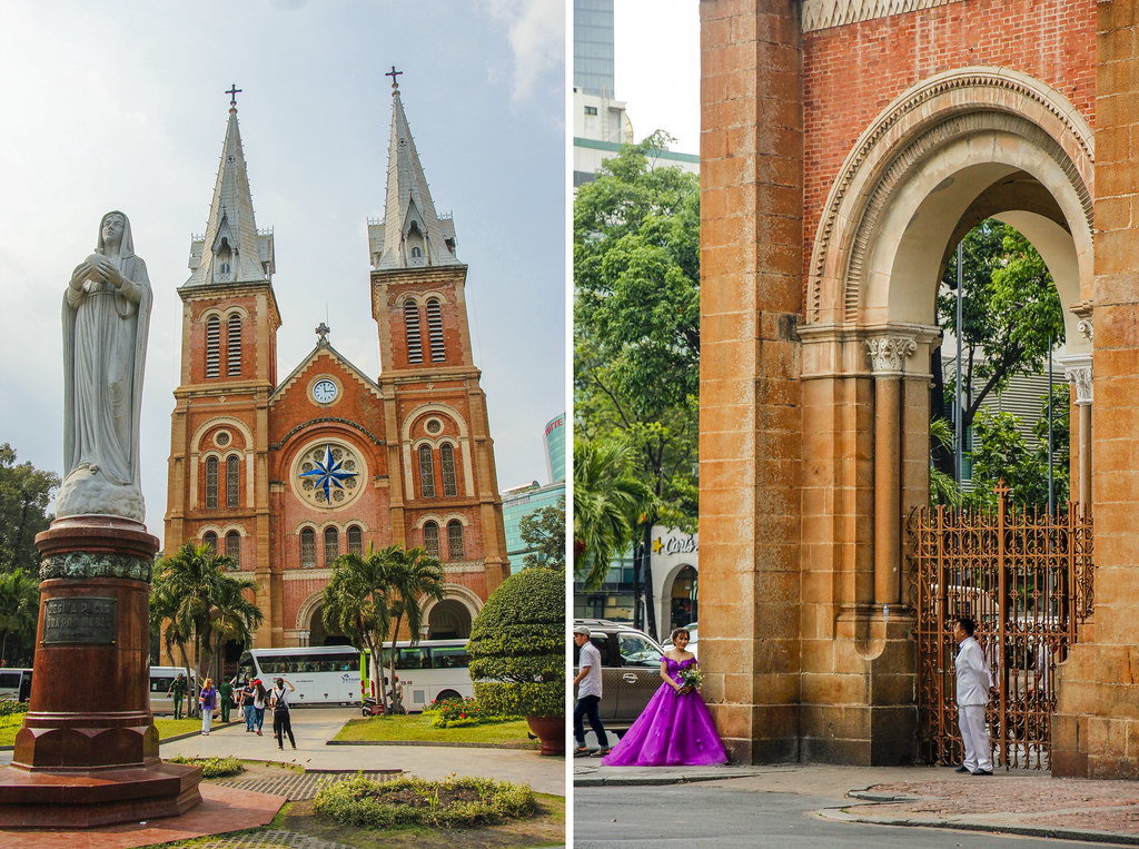 Notre-Dame Cathedral i Saigon