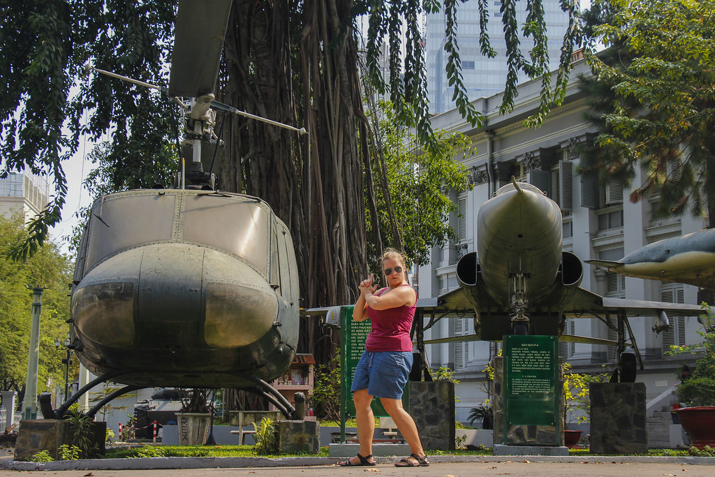 krigsmuseum i Ho Chi Minh City