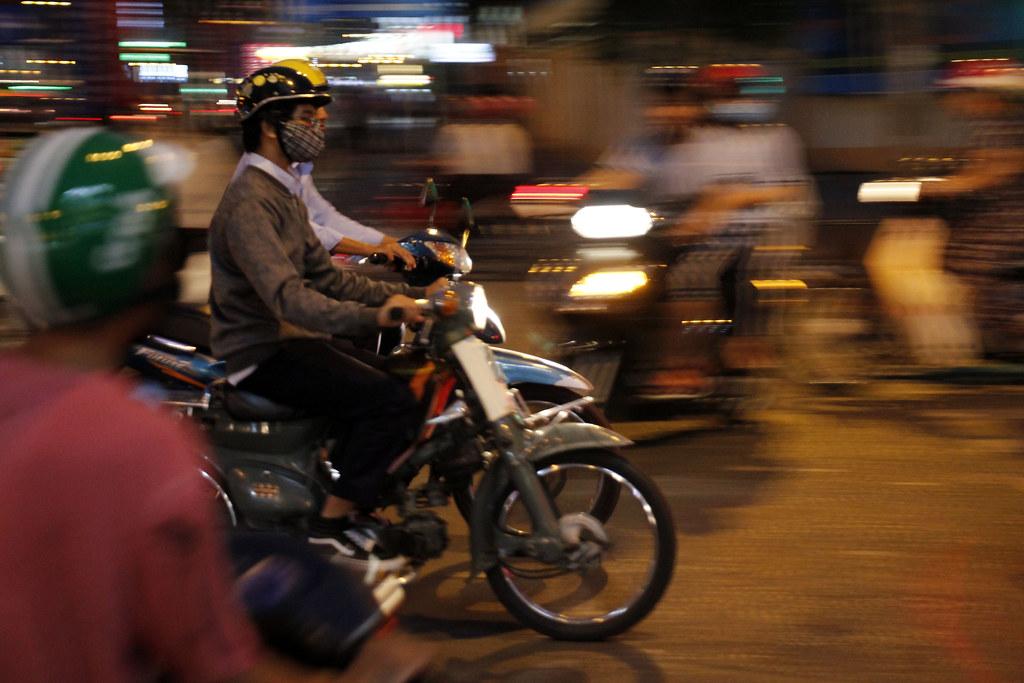 trafikken i Ho Chi Minh City