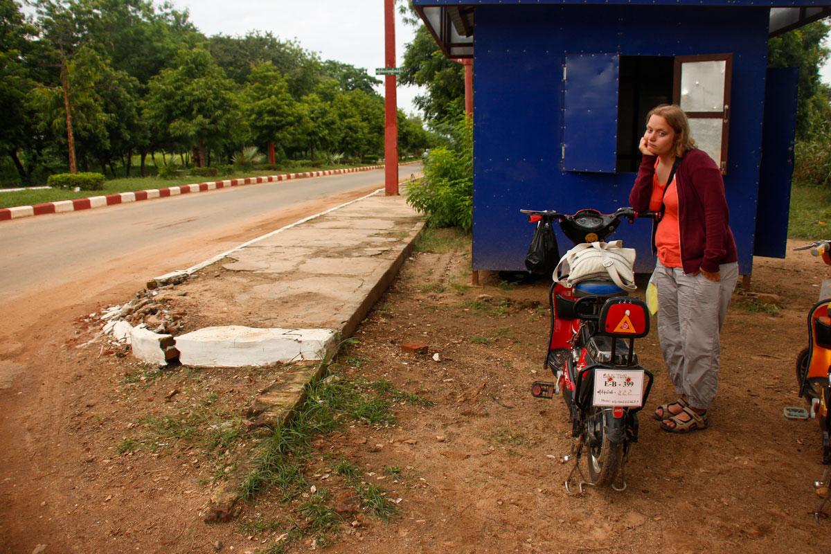 rejseproblemer i Bagan