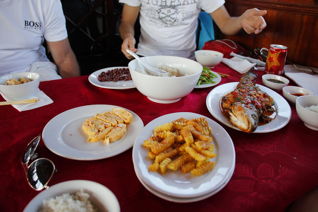 frokost på halongbugten