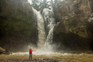 Rejseblog: Med chauffør på Bali - Elephant cave, rismarker og vandfald